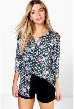 Holly All Over Paisley Shirt