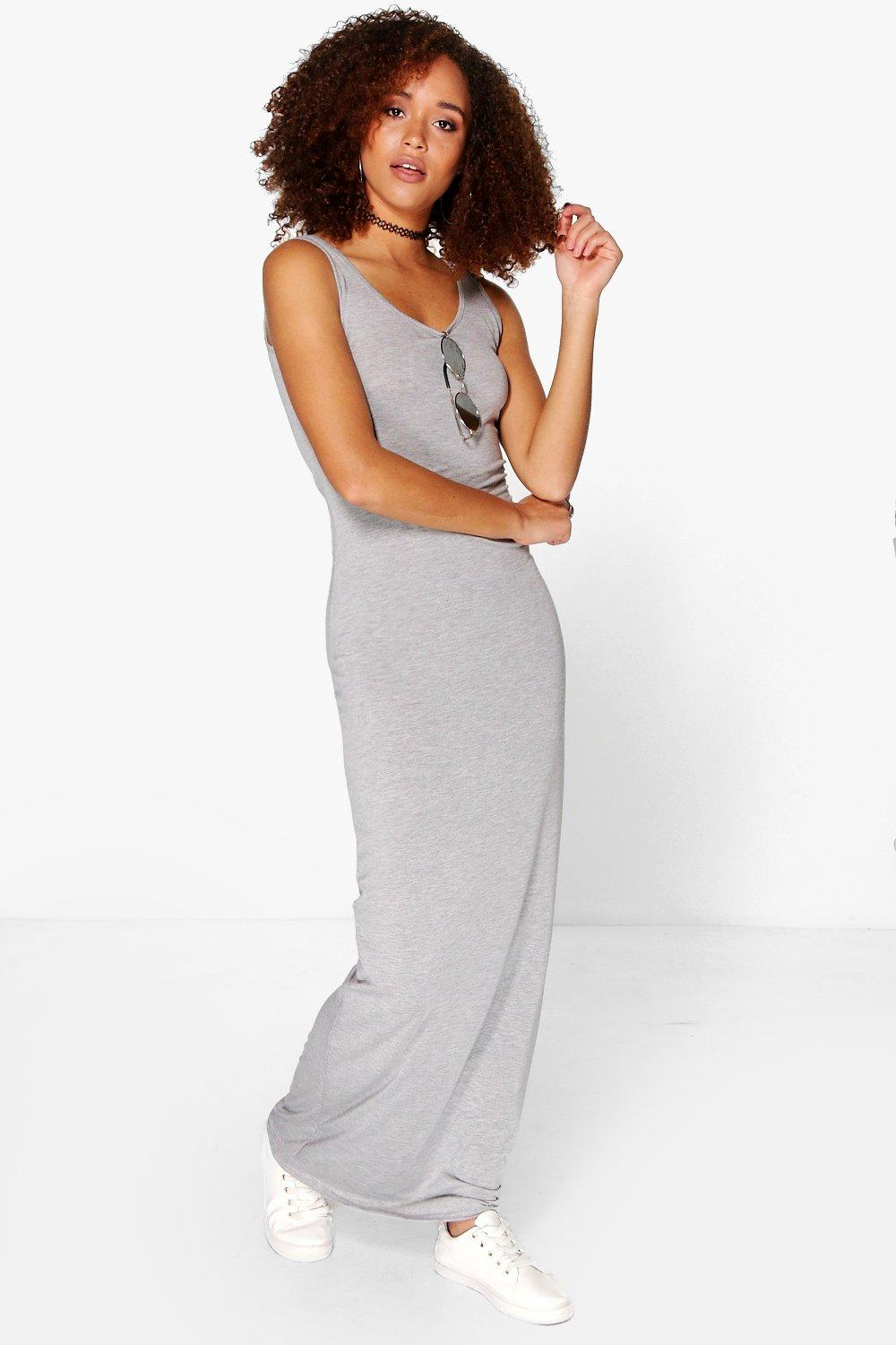 Sandy Basic Maxi Dress