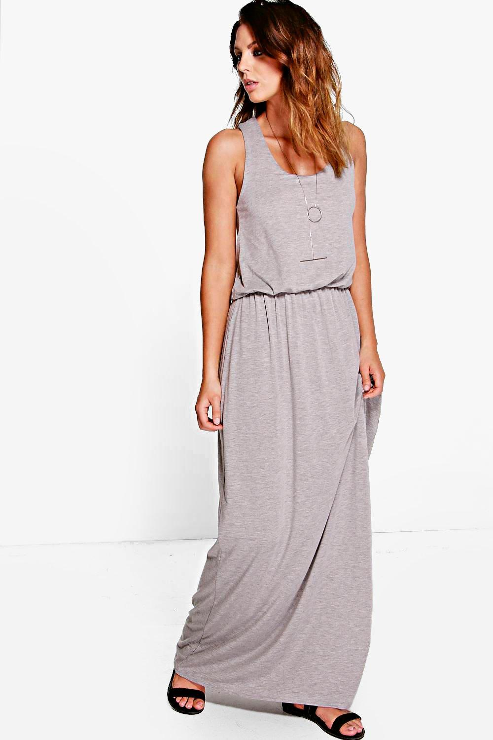Alice Basic Racer Back Maxi Dress