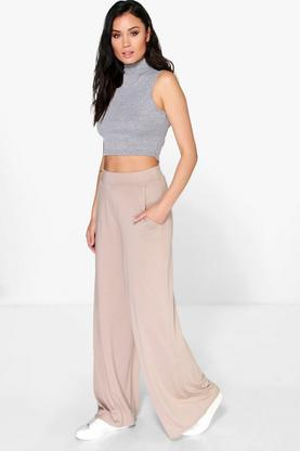 Matilda Pocket Side Wide Leg Trousers