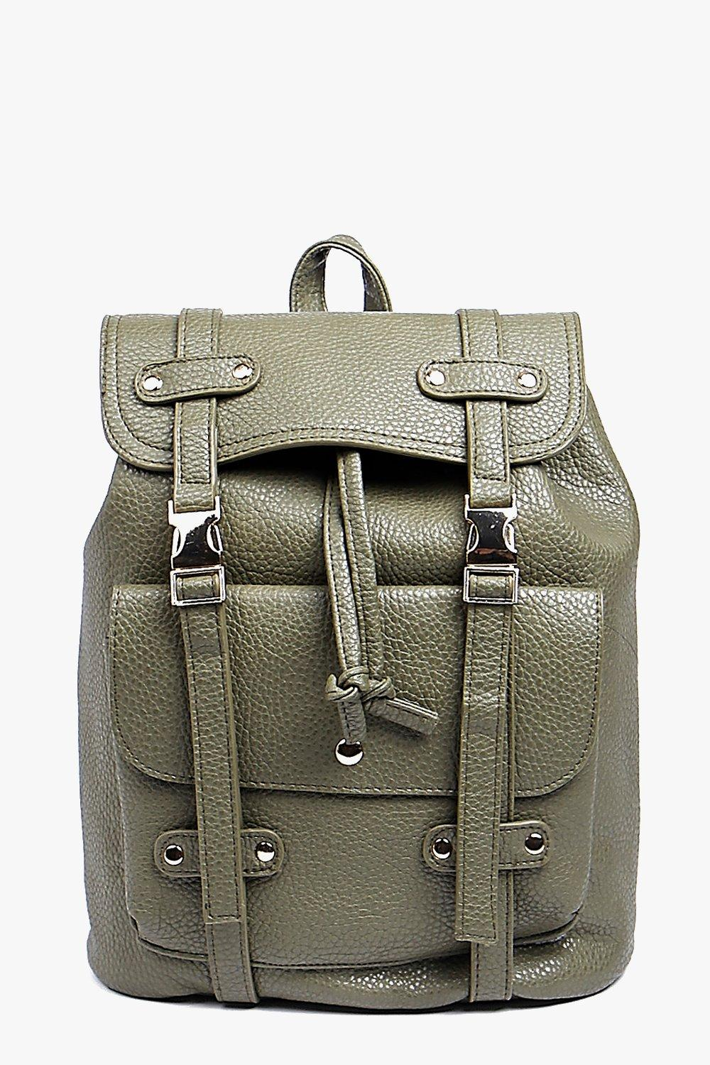 Darcy Pocket Front Metal Detail Rucksack