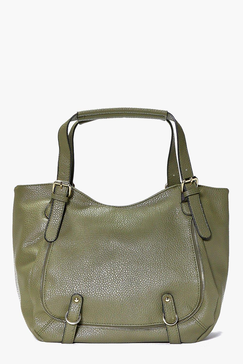 Iris Pocket Detail Slouch Day Bag