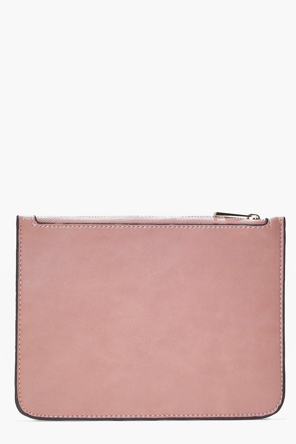 Florence Zip Top Clutch Bag