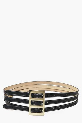 Victoria Triple Buckle Belt