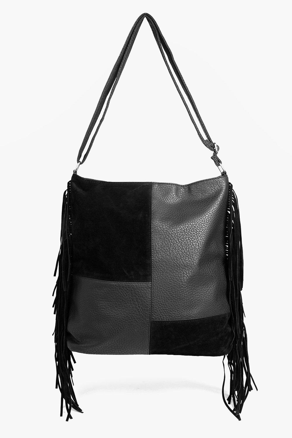 Millie Patchwork Tassel Day Bag