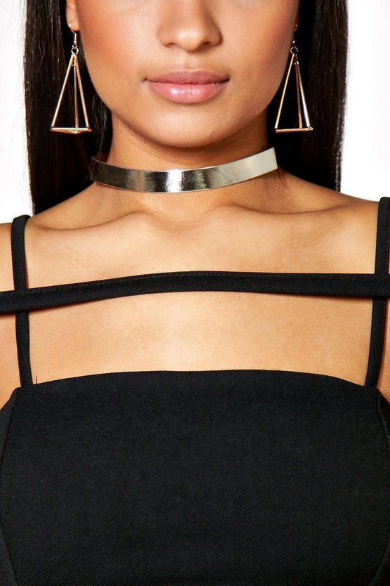 Julia Metallic Choker 3 Pack