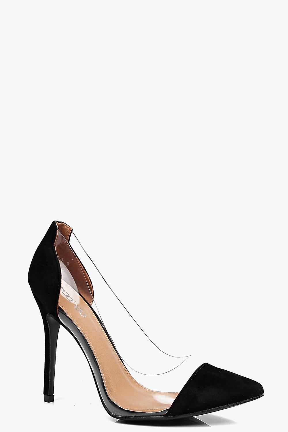 Lacey Clear Pointed Court