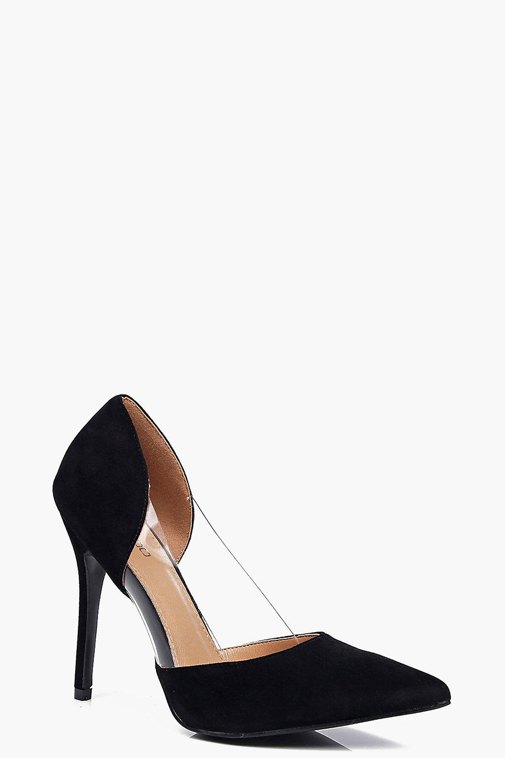 Jessica Clear Panel Pointed Court