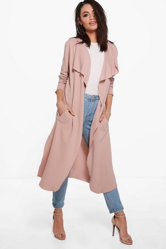 Kelly Side Split Duster