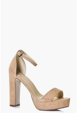 Katie Two Part Platform Heel
