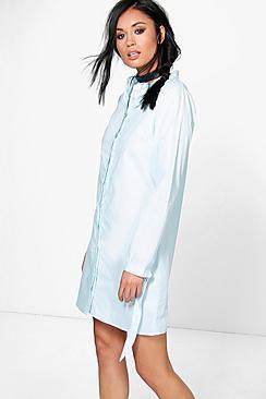 Pandora Tie Sleeve Shirt Dress