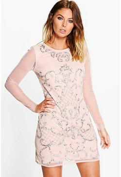 Boutique Myleene Embellished Bodycon Dress