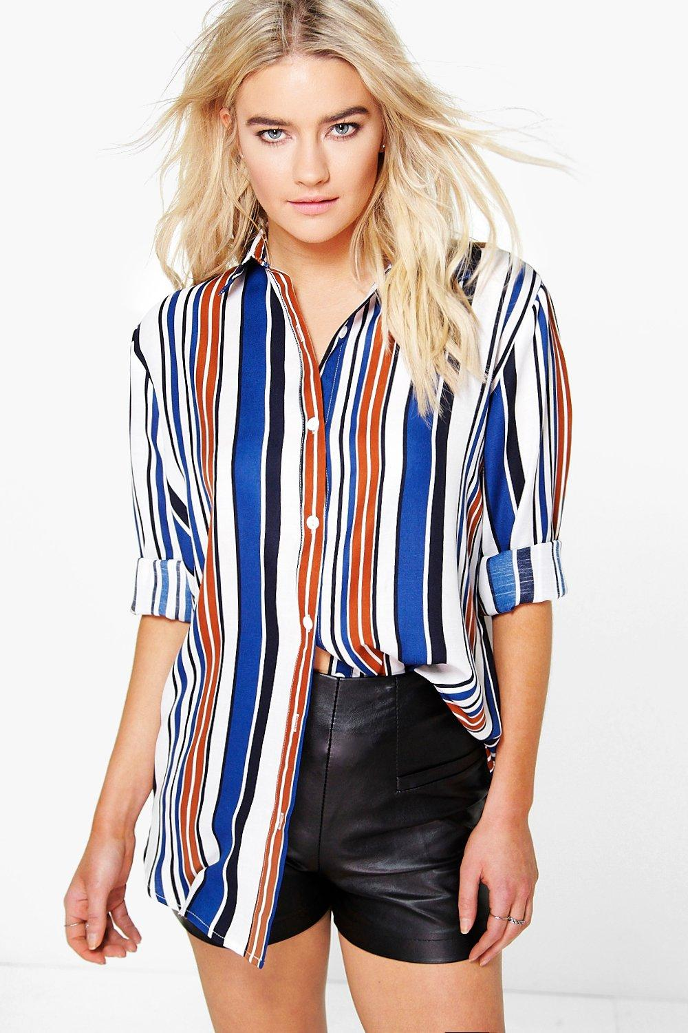 Isobel Striped Oversized Shirt