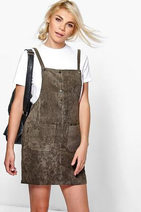 Kimberley Tie Waist Pinafore Dress