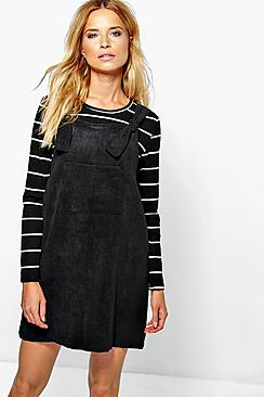 Kelly Knot Front Pinafore Dress