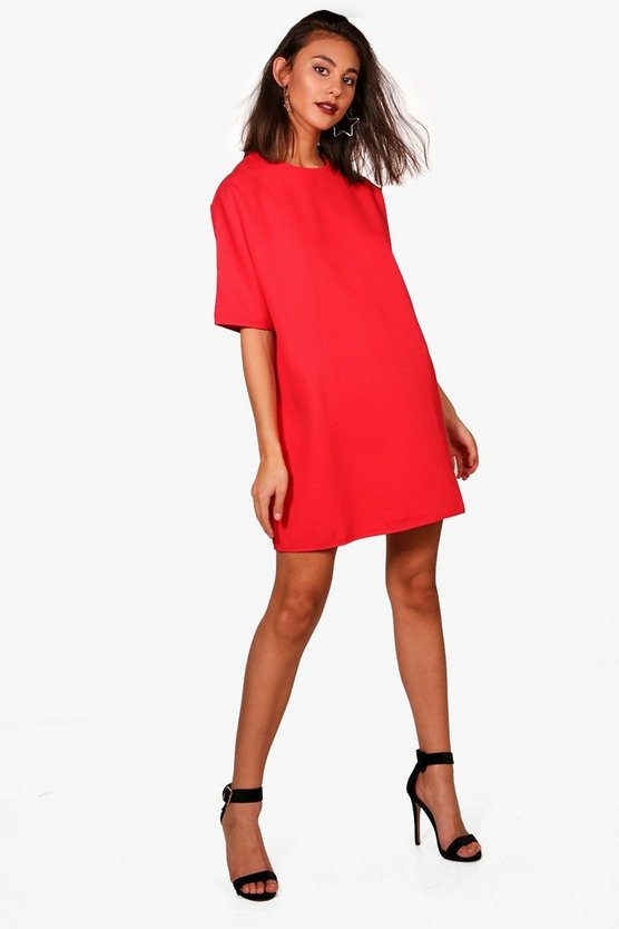 Box Shift Dress