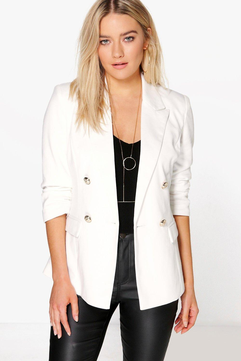 Nicole Lined Double Breasted Blazer