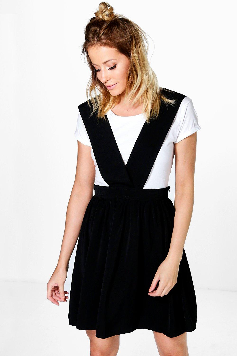 Sierra Cross Strap Pinafore Dress