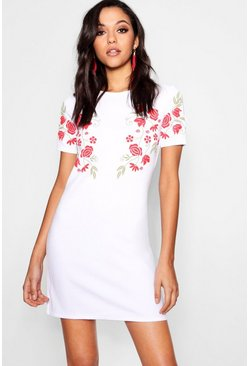 Camy Floral Printed Shift Dress