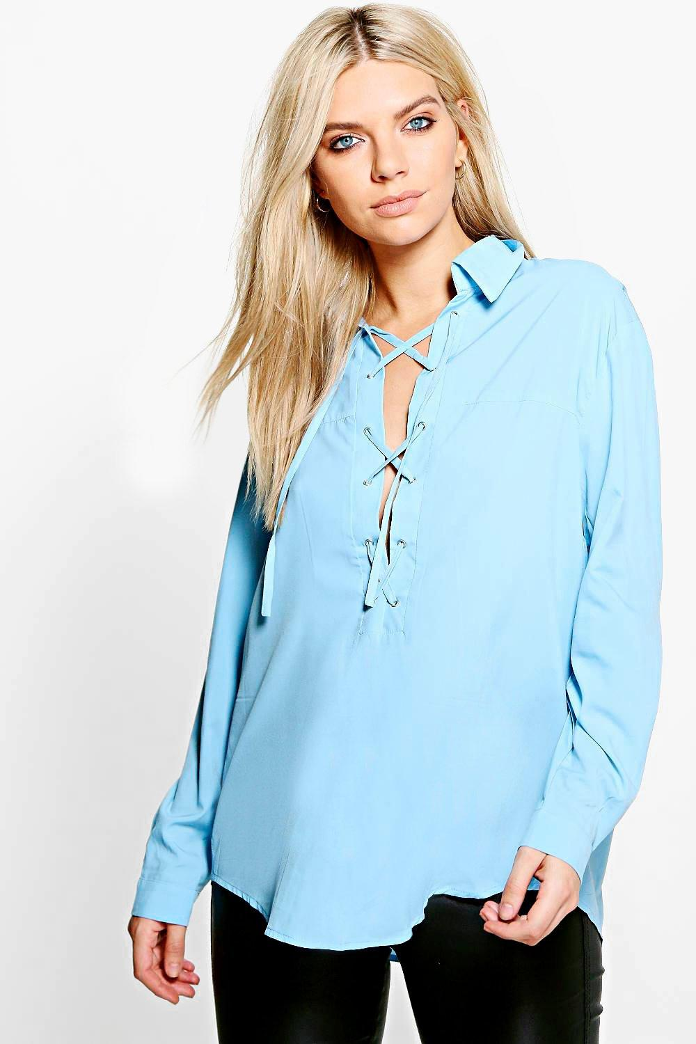 Freya Lace Up Shirt