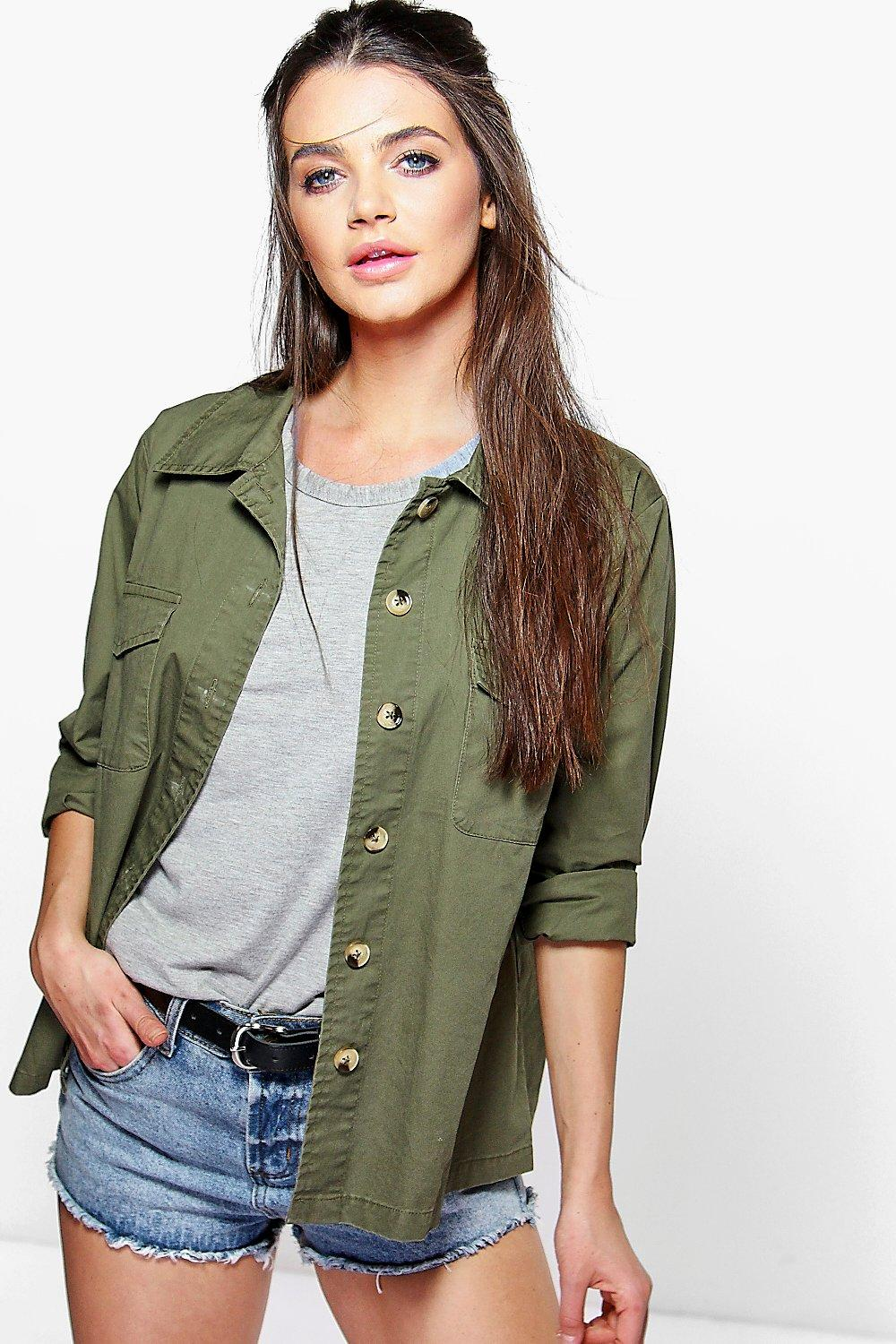 Lexi Pocket Utility Shirt