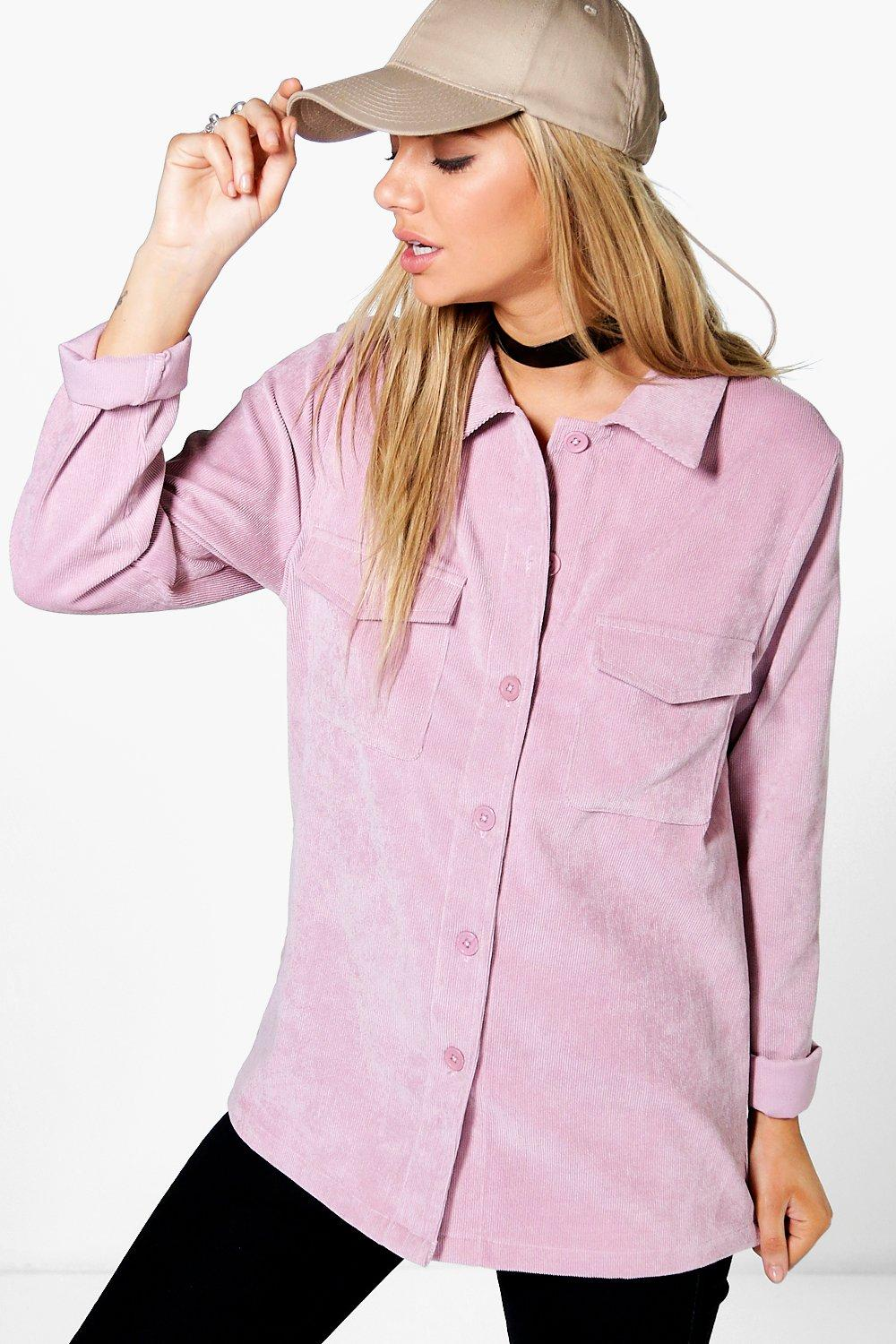 Mia Oversized Cord Shirt