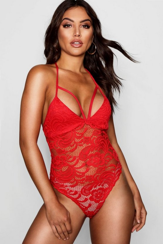 Lara Lace Strappy Bodysuit