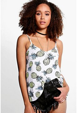 Poppy Pineapple Swing Cami