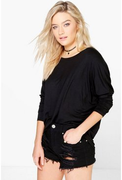 Molly Oversized Drop Arm T-Shirt
