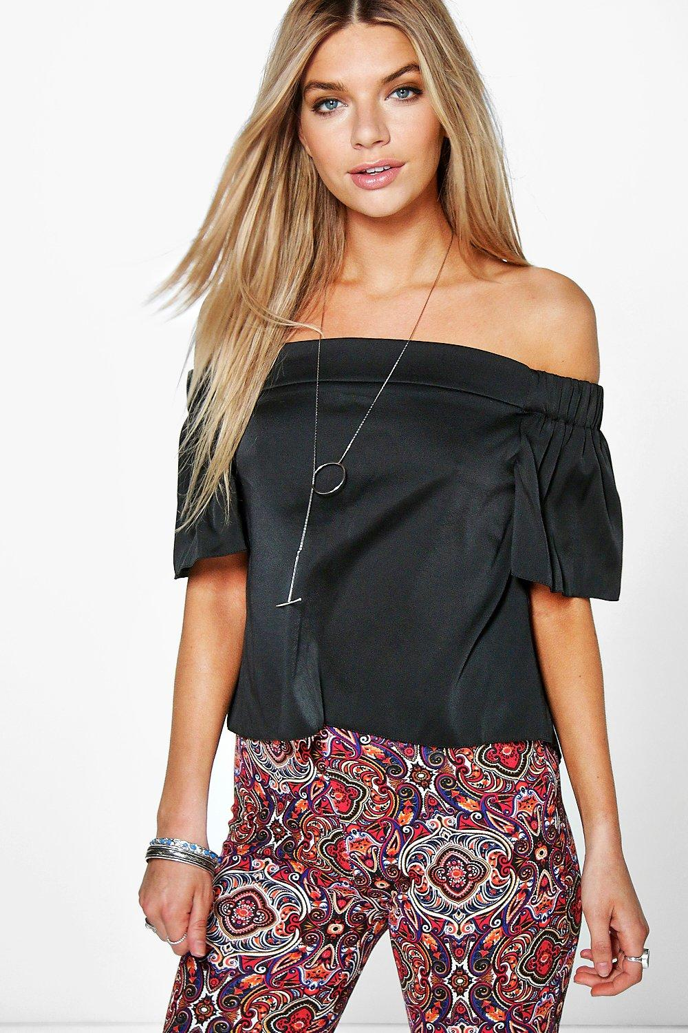 Erin Off The Shoulder Woven Top