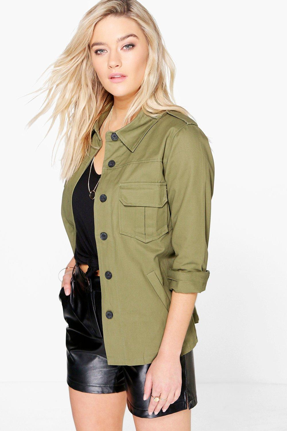 Erin Military Pocket Detail Jacket