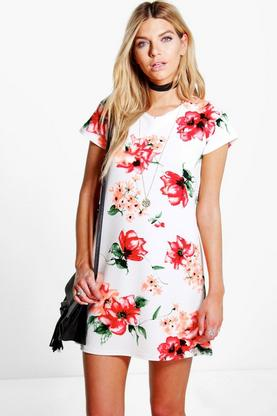 Allie Floral Shift Dress