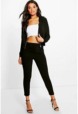 Mai Textured Bomber & Trouser Co-Ord Set