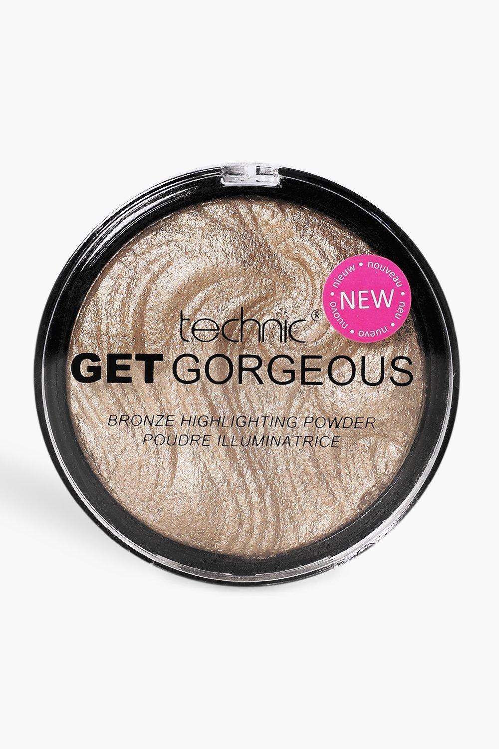 Technic Womens Technic Get Gorgeous Bronzing Highlighter - Brown - One Size, Brown