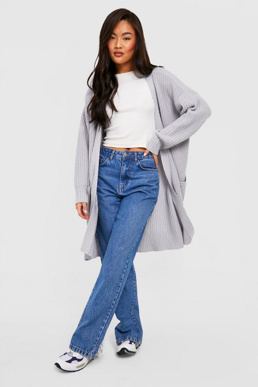 Oversized Boyfriend Cardigan - English Sweater Vest