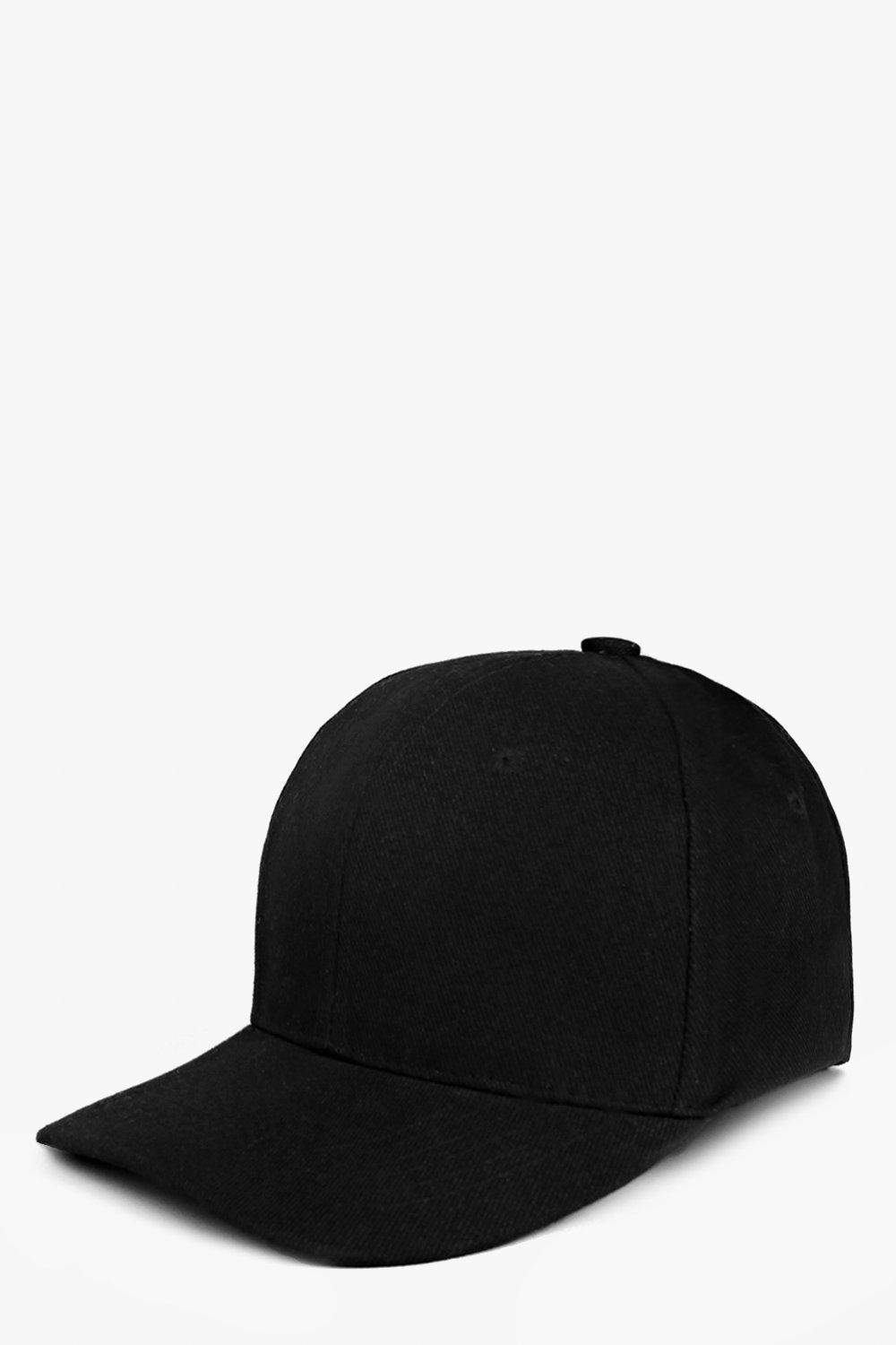Basic Baseball Cap - black - Stay snug in scarves