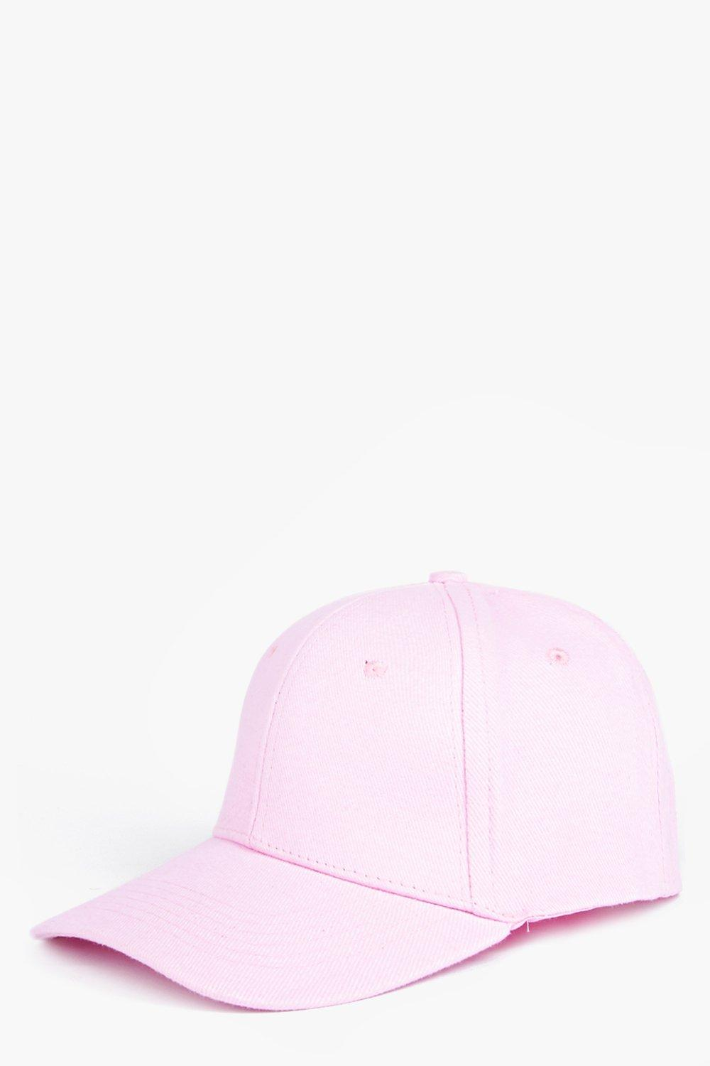 Basic Baseball Cap - pink - Stay snug in scarves a