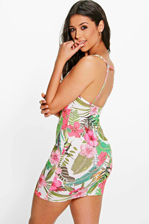 Boohoo Tropical Dresses