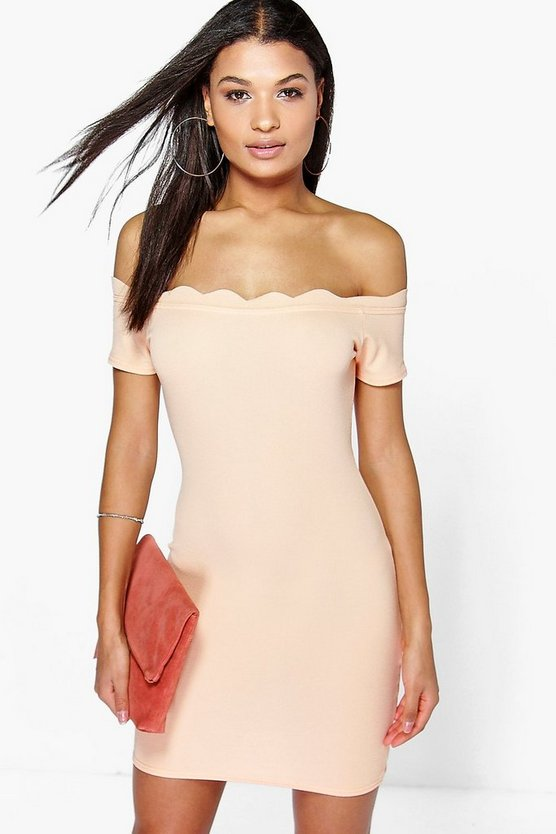 Jamie Off The Shoulder Bodycon Dress