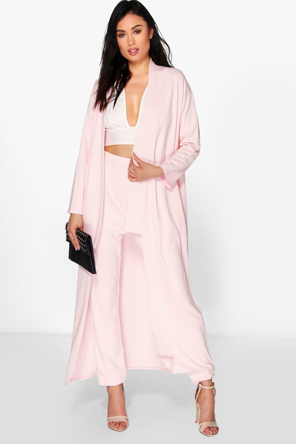 Lacey Longline Duster