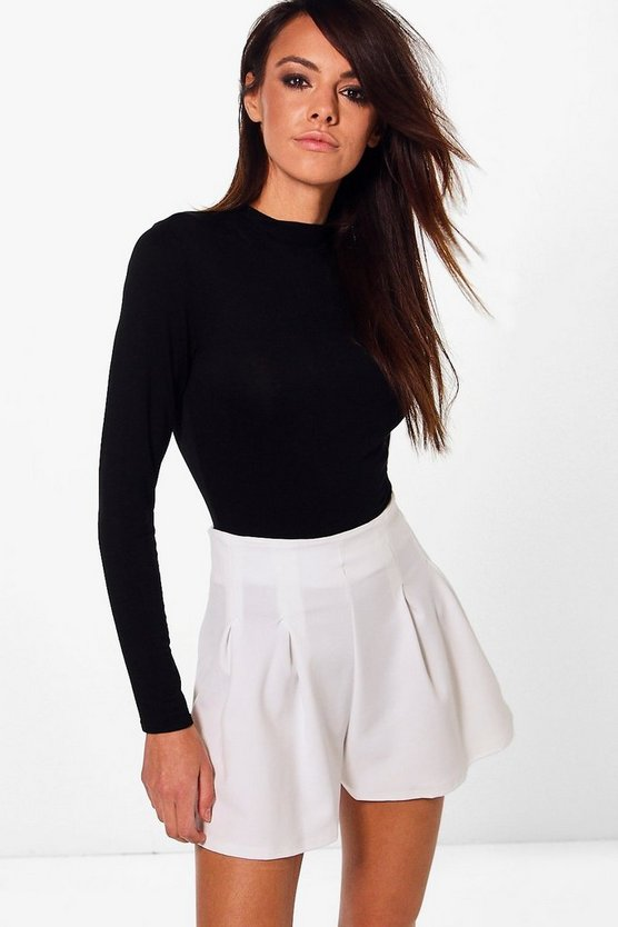 Mia Pleated Tailored Shorts