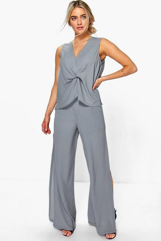Olivia Side Split Trouser