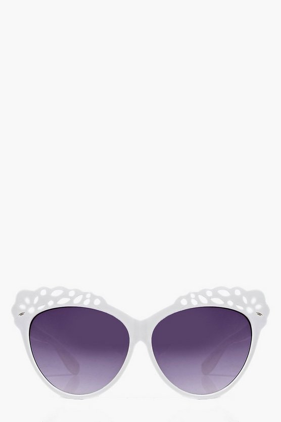 Harriet Floral Cat Eye Sunglasses