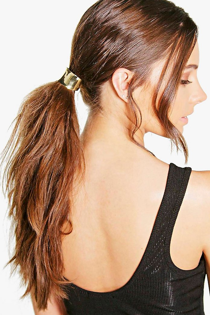 Amber Curved Metal Hair Band