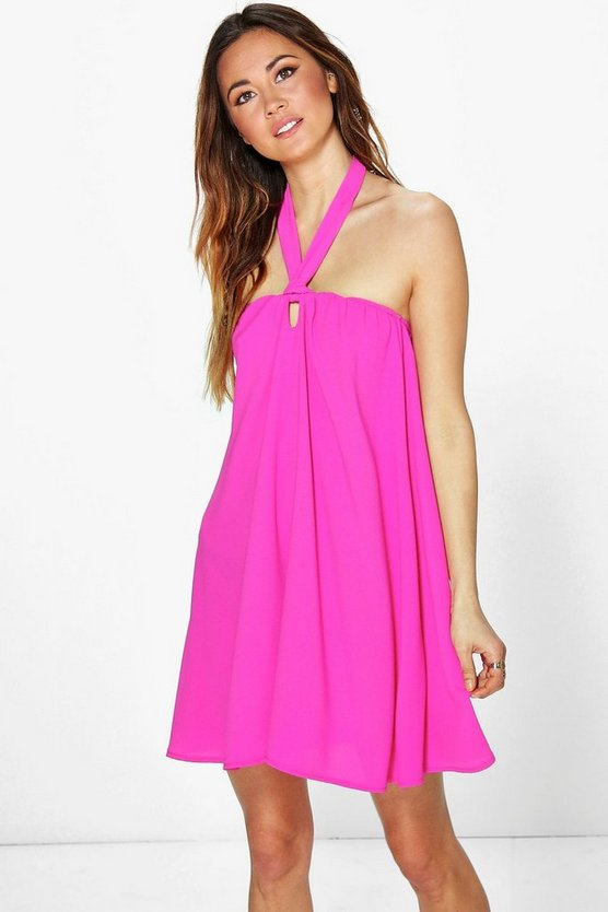 Teresa Tie Neck Sun Dress