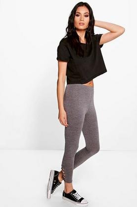 Nali Lace Up Side Jersey Leggings