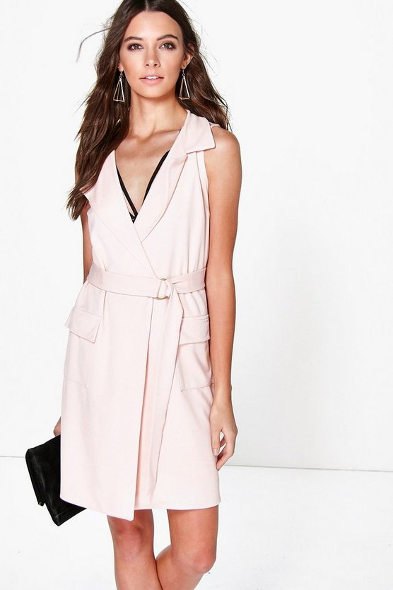 Carmel Sleeveless Blazer Dress