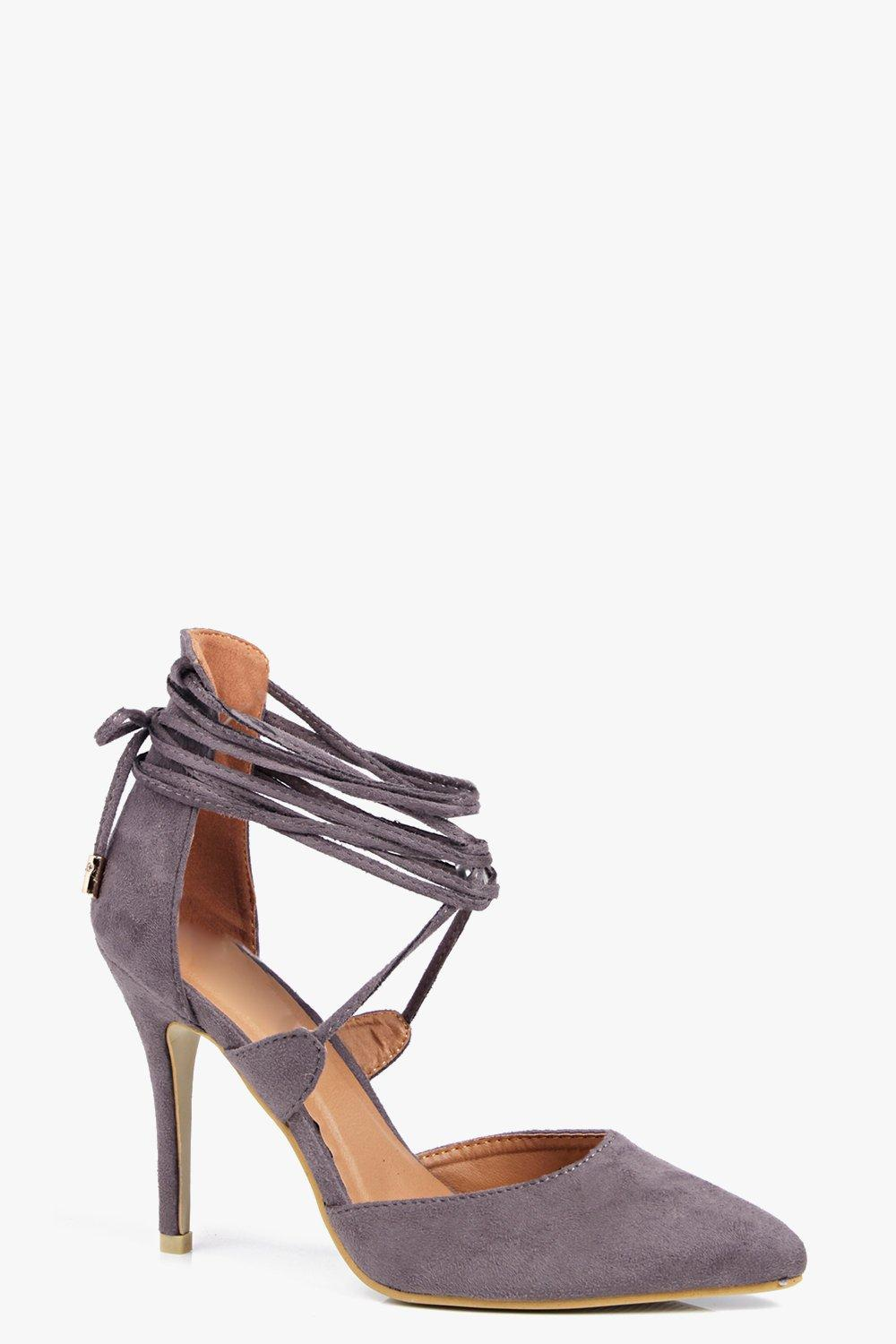 Isabella Pointed Wrap Strap Court