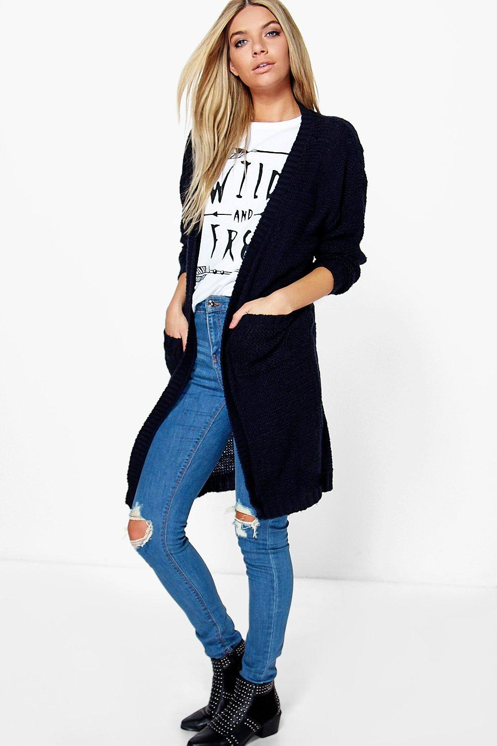 Cara Edge To Edge Midi Cardigan
