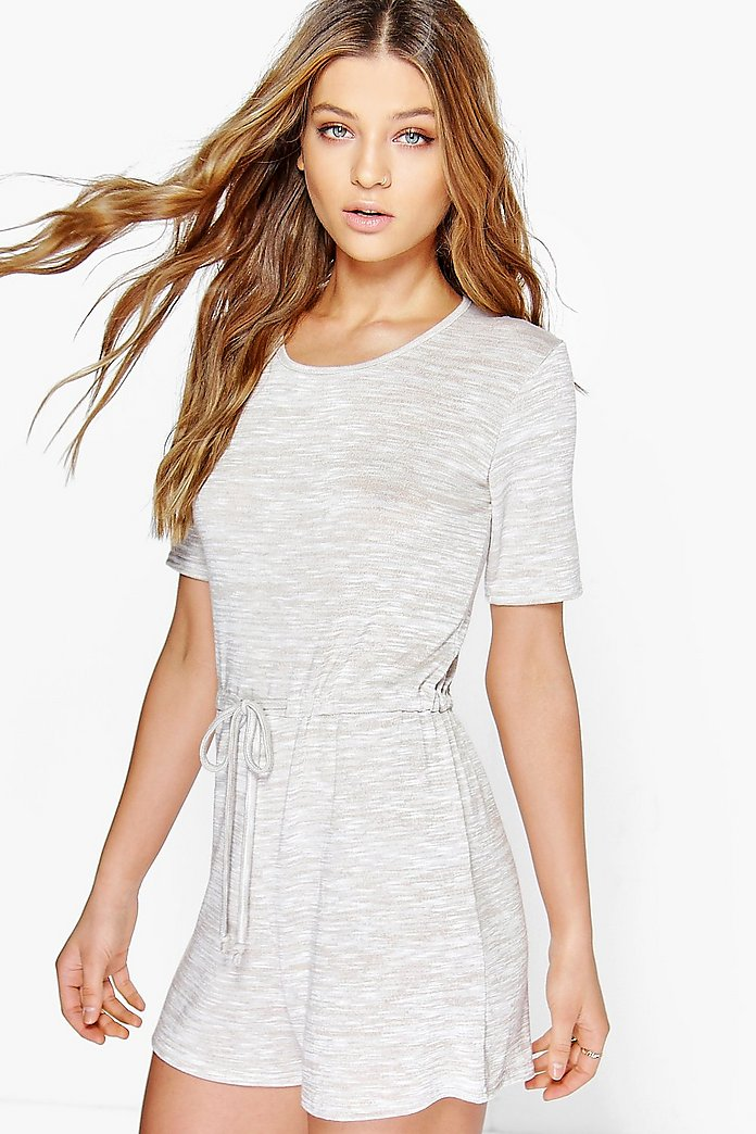 Lois Casual Relaxed Fit Knitted Playsuit